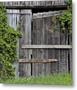 Glengarry Barn Doors Metal Print