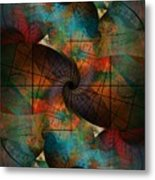 Global Warning Metal Print