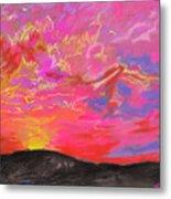 Glorious Sunset 5 Metal Print