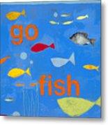 Go Fish Metal Print
