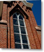 Gods Window St. Mary's In The Mountains Catholic Church Metal Print