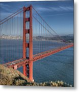 Golden Gate Metal Print by Andreas Freund