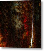 Golden Texture Metal Print