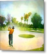 Golf At The Blue Monster In Doral Florida 02 Metal Print