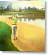 Golf In Club Fontana Austria 02 Metal Print