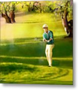 Golf In Spain Castello Masters  02 Metal Print