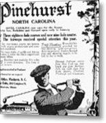Golf: Pinehurst, 1916 Metal Print