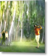 Golf Trophee Hassan II In Royal Golf Dar Es Salam Morocco 01 Metal Print