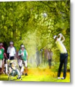 Golf Trophee Hassan II In Royal Golf Dar Es Salam Morocco 03 Metal Print