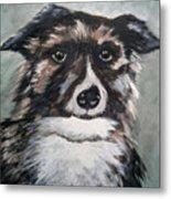 Good Dog By Christine Lites Metal Print