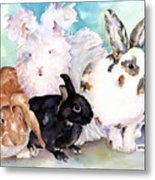 Good Hare Day Metal Print by Pat Saunders-White