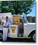 Good Humor Man Metal Print