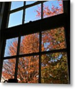 Good Morning Autumn Metal Print