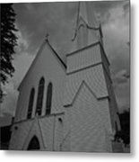Grace In Black And White Metal Print