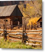 Grafton Homestead Metal Print