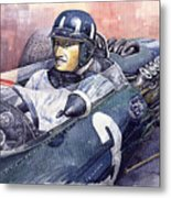 Graham Hill Brm P261 1965 Metal Print