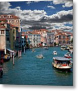 Grand Canal Daylight Metal Print