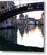 Grand Canal In Venice At Sunrise Metal Print