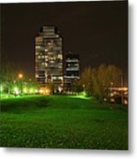 Grand Rapids Mi Under The Lights-5 Metal Print