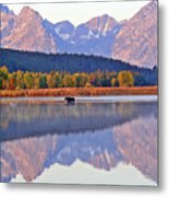 Grand Reflections Metal Print