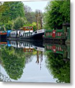 Grand Union Canal Cowley West London Metal Print