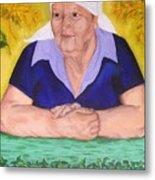 Granny Katiya Metal Print