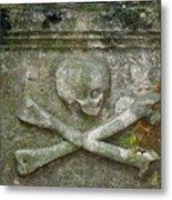 Grave Business 2 Metal Print
