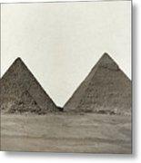 Great Pyramids Metal Print