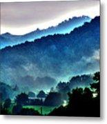 Great Smokey Mountains Metal Print by Susanne Van Hulst