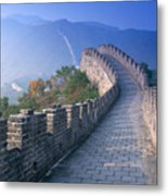Great Wall Of China Metal Print