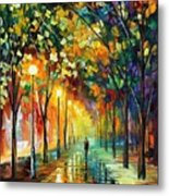 Green Dreams Metal Print by Leonid Afremov