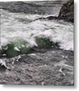 Green Jello Metal Print