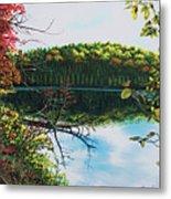 Green Lakes Metal Print