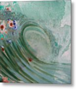 Green Mist Metal Print by Mateo Antonell
