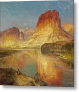 Green River Of Wyoming Metal Print by Thomas Moran