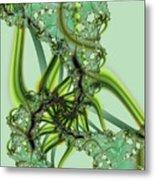 Green Vines Metal Print
