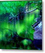 Greens 01 Metal Print