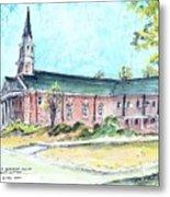 Greer United Methodist Church Metal Print by Patrick Grills
