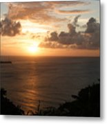Grenadian Sunset I Metal Print