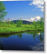 Gridley River Wapack Mountains Metal Print