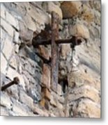 Gristmill Cross One Metal Print