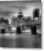 Gritty City Metal Print by Steven Ainsworth