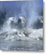 Grotto Geyser - Yellowstone National Park Metal Print