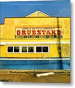 Grubstake Metal Print by Steven Ainsworth