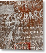 Grunge Background Metal Print by Carlos Caetano