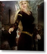 Guinevere's Tears Metal Print by Mary Hood