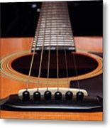 Guitar 12 Metal Print