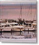 Gulf Coast Dock Metal Print