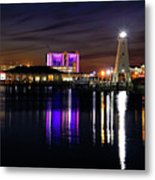 Gulfport Lighthouse - Mississippi - Harbor Metal Print