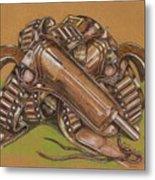 Gunfighter S Legacy Metal Print